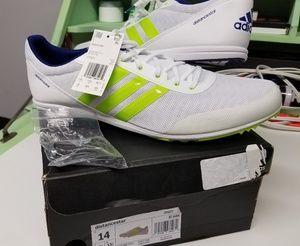 Adidas Distancestar size 14 Metal spikes